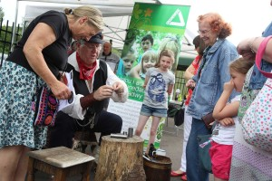 The Living History festival at Hafod-Morfa Copperworks