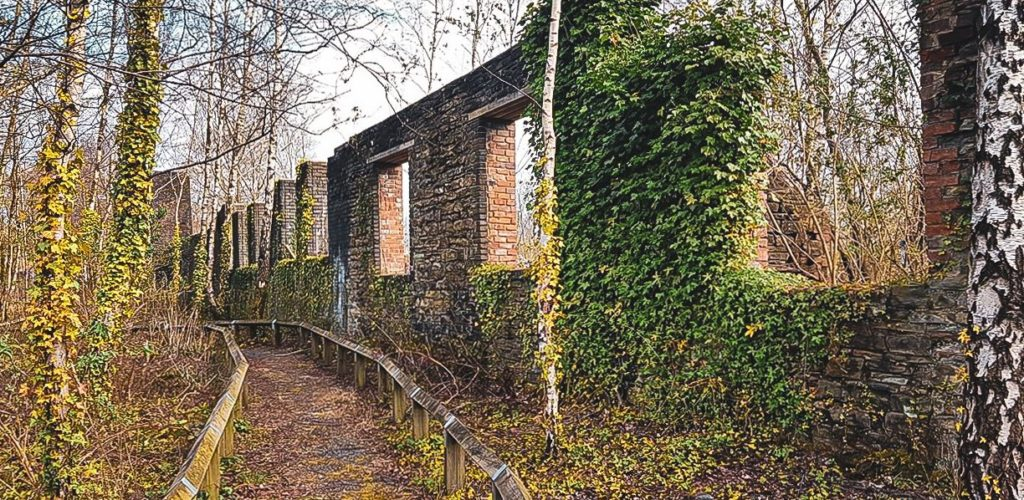 Copperworks boundary wall Photography by Ceri Hurlow